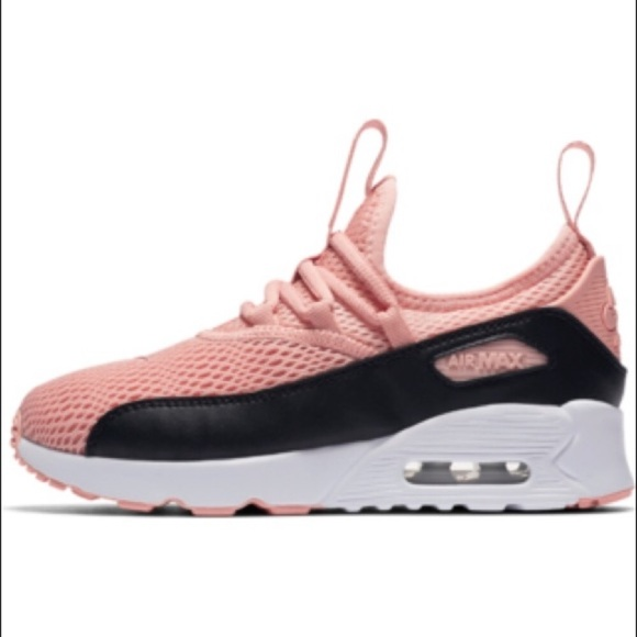 competitive price bc303 a86a0 Nike Air Max 90 EZ (GS) Women Sneakers Pink Black NWT
